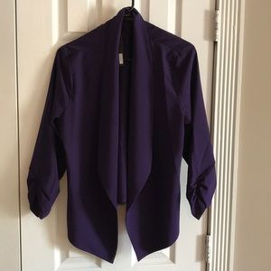 Tops - Purple cardigan